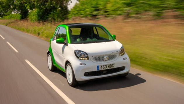 Smart fortwo coupe ed review