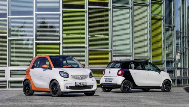 Electric models to return to Smart range