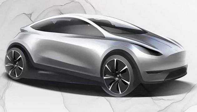 Tesla boss hints at European hatchback