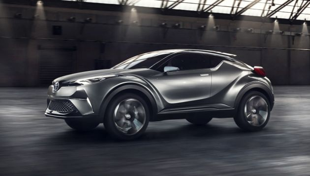 toyota announce hybrid chr concept will be made | next green car