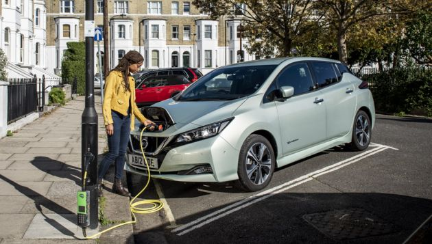 Additional £2.5m for on-street EV charging fund