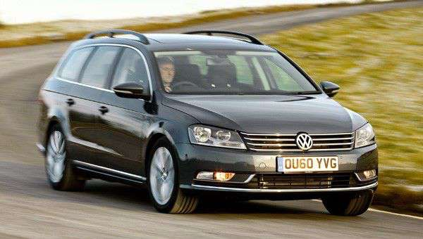 VW Passat BlueMotion 2.0 TDI SE review