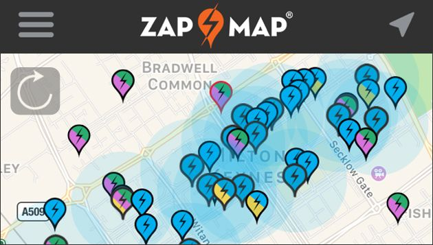 Zap-Map rolls out live network data across EV charging platform