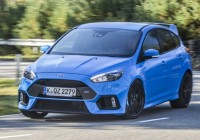 FORD Focus RS 2.3 EcoBoost 350PS Start-Stop & FORD Focus RS Car Tax - Road Tax Prices 2017 - Next Green Car markmcfarlin.com