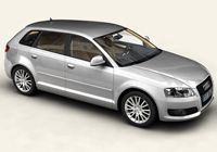 AUDI A3 Sportback 1.6 102ps Sport Tiptronic [from 2007] CO2 - 183g/km, MPG - 36.7, Tax Band - I