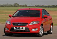 FORD Mondeo 2.0 Duratec 145PS Saloon [from May 2007] CO2 - 189g/km, MPG - 35.8, Tax Band - J