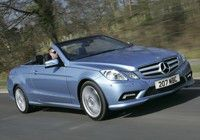 MERCEDES-BENZ E-Class Cabriolet E 200 CGI BlueEFFICIENCY 235/45 17in rear wheels [ CO2 - 185g/km, MPG - 36, Tax Band - I