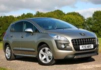 PEUGEOT 3008 1.6 HDi FAP 110bhp CO2 - 135g/km, MPG - 55, Tax Band - E