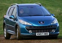 PEUGEOT 207 SW OUTDOOR 1.6 HDi FAP 110 bhp , Diesel, CO2 emissions 136 g/km, MPG 54.3
