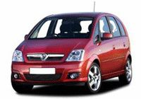 VAUXHALL Meriva 1.3 CTDi 5dr MPV [2006] CO2 - 135g/km, MPG - 57, Tax Band - E