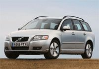 VOLVO V50 1.8F Flexifuel [2010] CO2 - 177g/km, MPG - 23, Tax Band - I