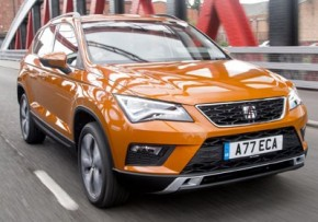 SEAT Ateca 1.6 TDI Ecomotive S 115PS, Diesel, CO2 emissions 113 g/km, MPG 66.0