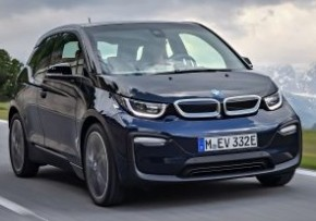 BMW i3 Electric Car 94Ah with Range Extender Auto, Plug-in Petrol Hybrid, CO2 emissions 13 g/km, MPG 470.8