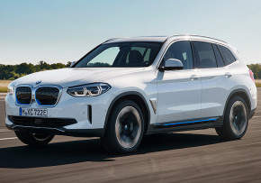 BMW iX3 210kW Premier Edition Auto, Electric (av UK mix), CO2 emissions 0 g/km, MPG 136.6