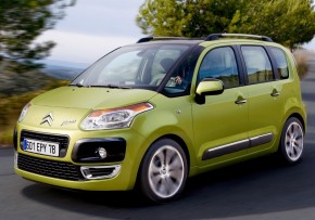 CITROEN C3 Picasso 1.6HDi 110hp 16in wheels, Diesel, CO2 emissions 130 g/km, MPG 57.6
