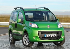 FIAT Qubo 1.3 16v MultiJet Active 75HP, Diesel, CO2 emissions 107 g/km, MPG 68.9