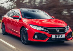 HONDA Civic 1.6 i-DTEC Turbo SR 120PS CVT, Diesel, CO2 emissions 109 g/km, MPG 68.4