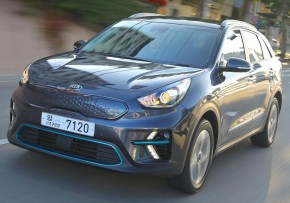 KIA e-Niro 64 kWh First Edition 150kW Auto, Electric (av UK mix), CO2 emissions 0 g/km, MPG 169.6