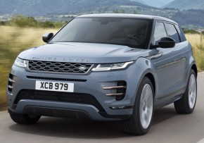 LAND ROVER Range Rover Evoque 2.0 P250 AWD Auto, Petrol, CO2 emissions 205 g/km, MPG 38.4