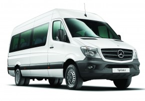 MERCEDES BENZ Sprinter Traveliner 313 TL14 MWB 3.5t BlueTEC, Diesel, CO2  Emissions