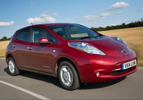 NISSAN LEAF 24kWh Visia Auto, Electric (av UK mix), CO2 emissions 0 g/km, MPG 168.5