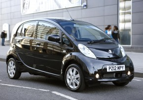 PEUGEOT iOn Electric 47kW Auto, Electric (av UK mix), CO2 emissions 0 g/km, MPG 194.4