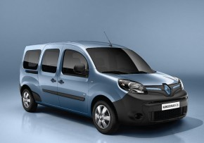 RENAULT Kangoo  Van Z.E., Electric (av UK mix), CO2 emissions 0 g/km, MPG 195.9