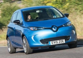 RENAULT Zoe Expression Nav R90 Electric Car , Electric (av UK mix), CO2 emissions 0 g/km, MPG 190.0