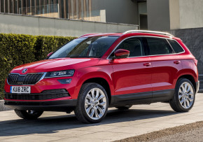 SKODA KAROQ 1.0 TSI SE Technology 115PS, Petrol, CO2 emissions 142 g/km, MPG 57.7