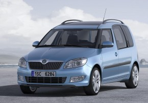 SKODA Roomster 1.2 TDI CR Greenline II 75PS, Diesel, CO2 emissions 109 g/km, MPG 67.3
