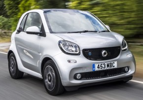 SMART EQ fortwo coupe prime premium plus 60kW Auto 7kWch, Electric (av UK mix), CO2 emissions 0 g/km, MPG 195.9