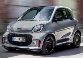 SMART EQ fortwo coupe passion advanced 60kW Auto, Electric (av UK mix), CO2 emissions 0 g/km, MPG 180.5