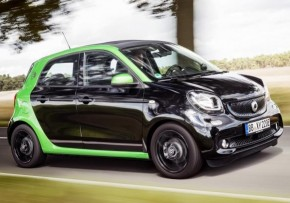 SMART forfour co2 emissions calculator