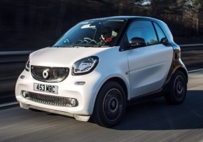 SMART fortwo coupe 1.0 pure 71hp start/stop, Petrol, CO2 emissions 93 g/km, MPG 72.6
