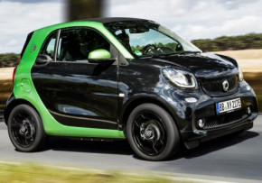 SMART fortwo coupe Electric Drive Prime Premium 60kW Auto, Electric (av UK mix), CO2 emissions 0 g/km, MPG 192.9