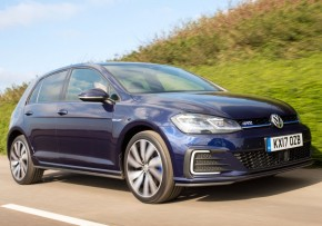 VW Golf GTE 1.4 TSI PHEV 204PS DSG, Plug-in Petrol Hybrid, CO2 emissions 45 g/km, MPG 166.2