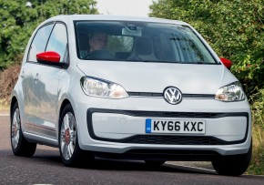 VW Up! 1.0 Take up! 60PS S/S, Petrol, CO2 emissions 95 g/km, MPG 71.1